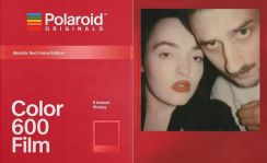 Polaroid Originals 600 Red Metalic wkład kolorowy