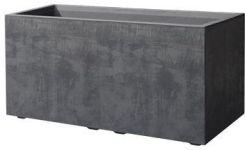 Deroma Skrzynka Balkonowa 79x395cm Plastikowa Antracytowa Cass Mil