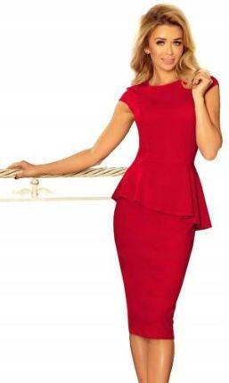 a54bb8b0e2 Czerwona sukienka elegancka Sukienki wiosna 2019 - Ceneo.pl