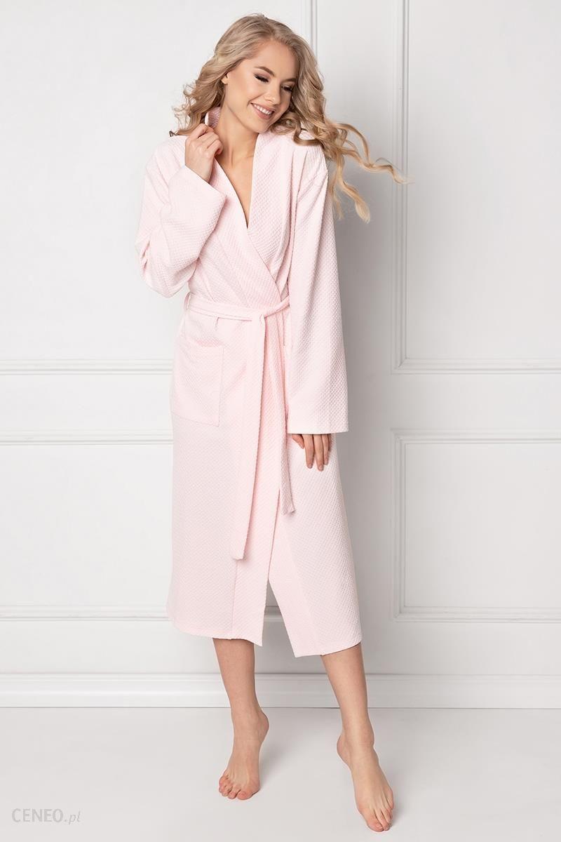 0b1ef5a8fb163a Szlafrok Damski Model Marshmallow Long Pink - Aruelle - Ceny i ...