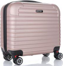 57e76d53a3023 Businessowa Walizka kabinówka 4 obrotowe kółka renomowanej marki Lumi  Różowa (kolory) ...