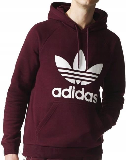 Bluza Męska Adidas Originals Bordowa BR4177 R. S Ceny i opinie Ceneo.pl
