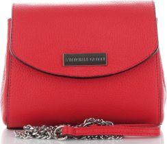 5e56993374dac Vittoria Gotti Firmowe Torebki Skórzane Eleganckie Listonoszki Made in  Italy Czerwone (kolory) ...