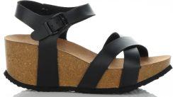ed15d0ad81d51 Stylowe Buty Damskie Koturny firmy Ideal Shoes Czarne (kolory) ...