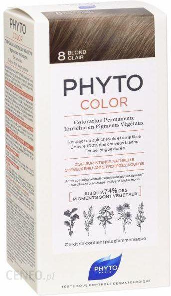Phyto Phytocolor 8 Jasny Blond Farba Pielęgnacyjna Do Włosów Z Pigmentami Roślinnymi