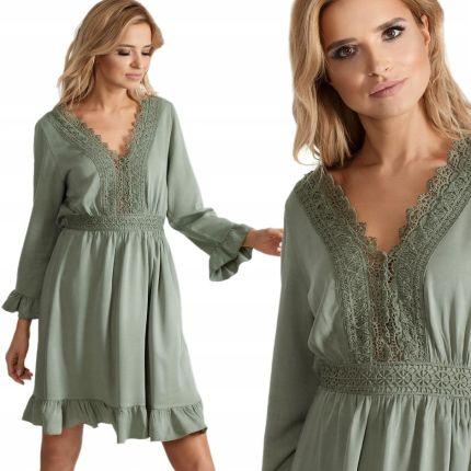 9c497c290b76 Sukienka Odkryte Ramiona Open Shoulders Wzór J192 - Ceny i opinie ...