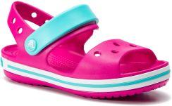 ed970bf4cc4e1 Sandały CROCS - Crocband Sandal Kids 12856 Candy Pink/Pool eobuwie