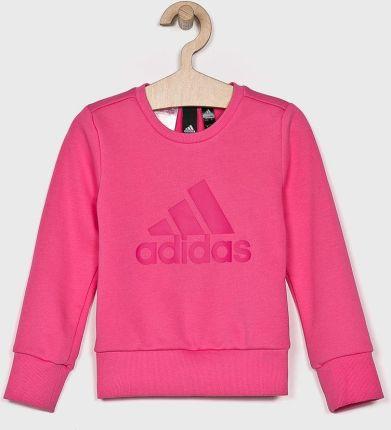 Dziewczęca bluza sportowa z kapturem Adidas AB4468 Ceny i