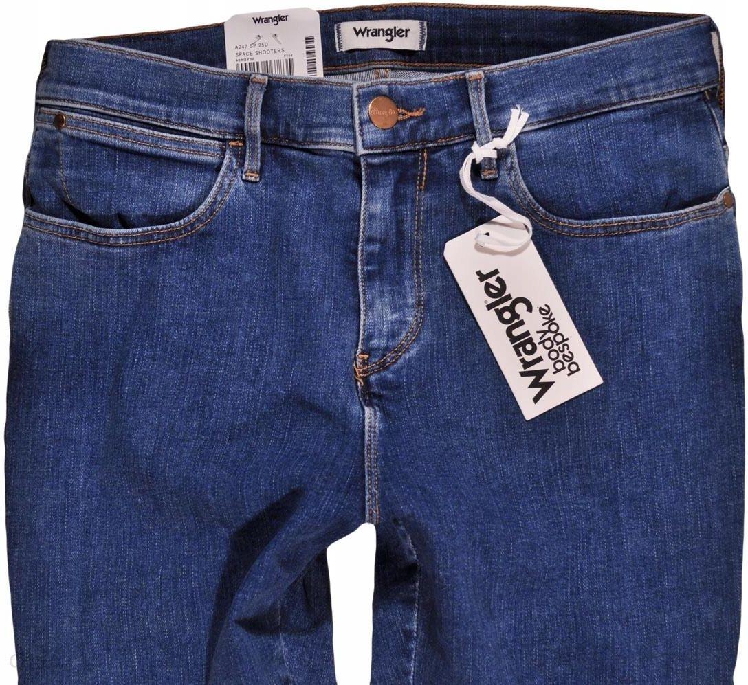 Wrangler spodnie jeans High Skinny Crop W28 L32 Ceny i opinie Ceneo.pl