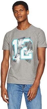 70a8906ee Amazon Boss Casual męski T-shirt - krój regularny l szary (Light/Pastel
