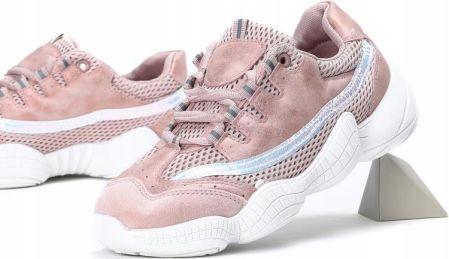 MS523 11 Pink Różowe Sportowe Obuwie Eko skóra 39 Ceny i opinie Ceneo.pl