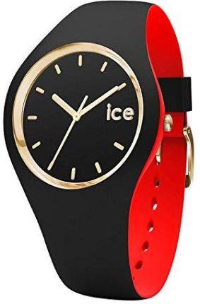 8efc858f8cf66b Amazon Ice-Watch - ICE loulou Black Gold - czarny zegarek damski z silikonową  bransoletką