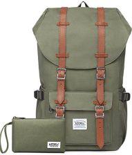 096aa8a9b87c2 Amazon Kaukko plecak damski, męski, dla studentów i uczniów, z kieszenią na  laptopa