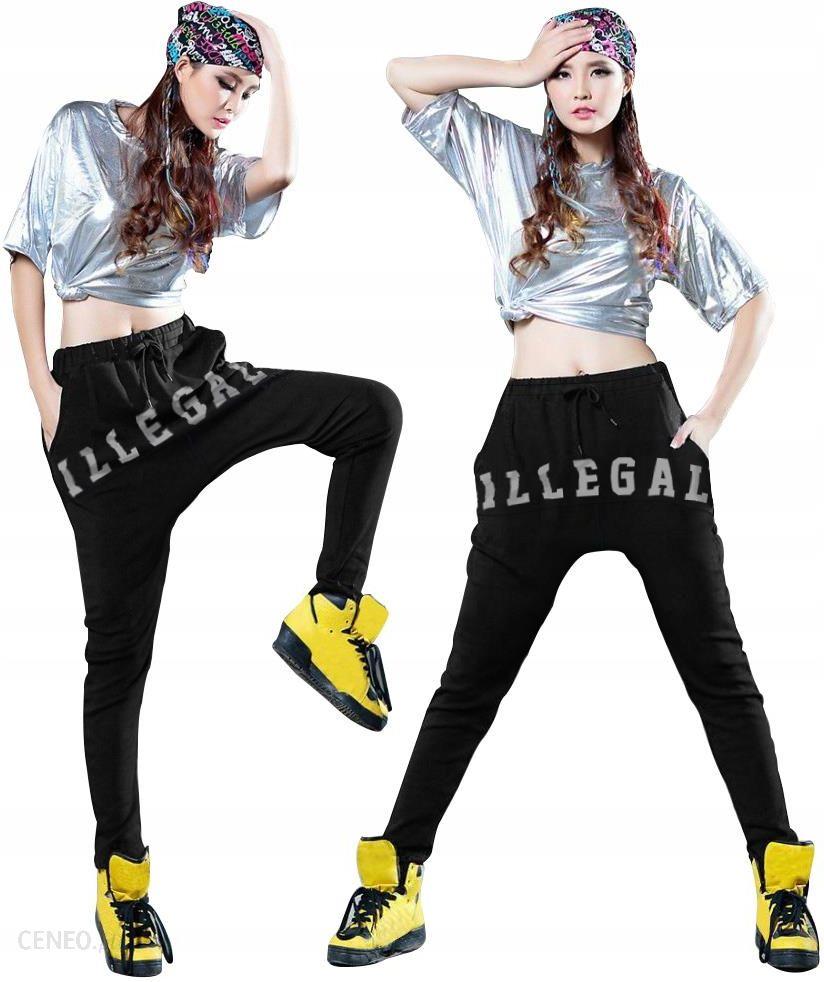 Spodnie Adidas Originals damskie dresy baggy 48