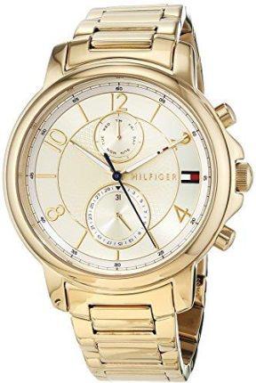 6757154ea5f9c Amazon Tommy Hilfiger Damski zegarek na rękę analogowy kwarc One Size