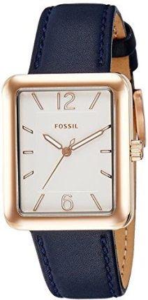 abcebb159 Amazon Fossil Women's atwater es4158 różowo-złoty Leather Quartz Fashion  Watch