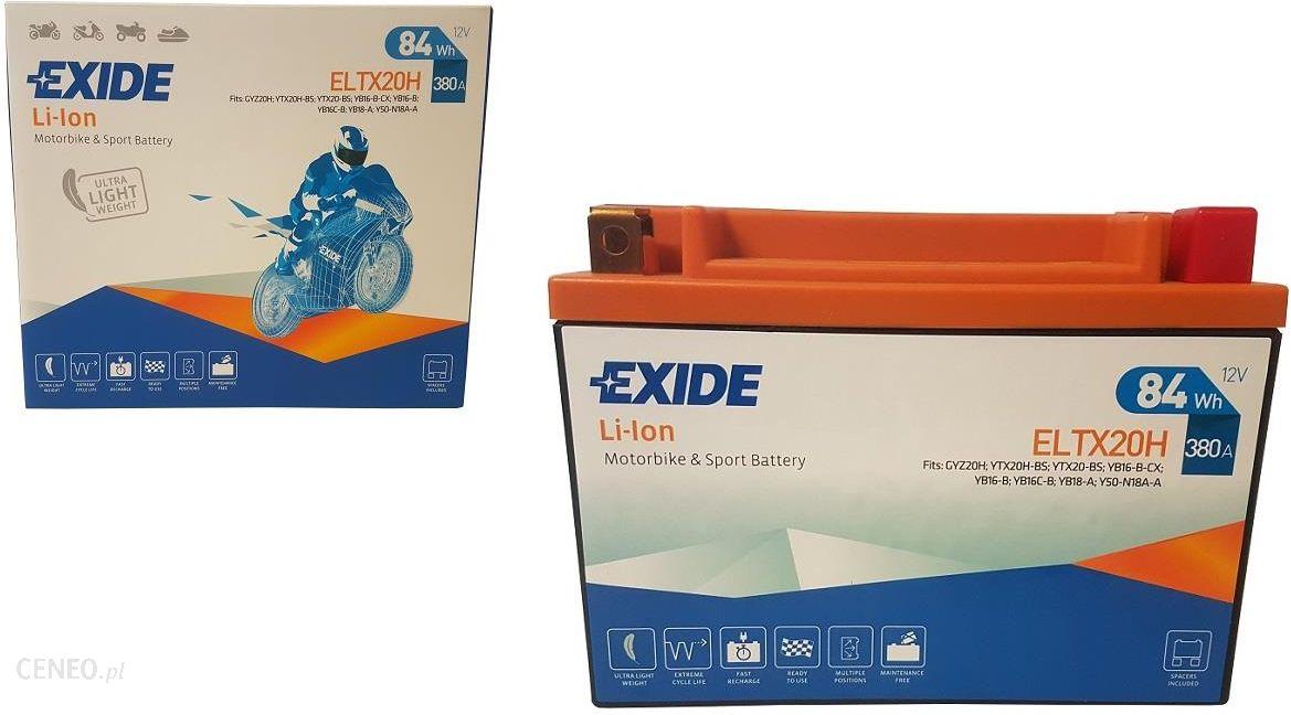 EXIDE BATTERIE EXIDE LI-ION ELTX20H