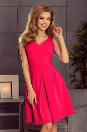 55d46706d5 Wygodna Sukienka Emmy Wstawki Koronka Czerwona S - Ceny i opinie ...