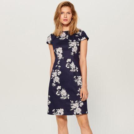 63825624cc Sukienki Materiał Elastan - Wzór  Kwiaty wiosna 2019 - Ceneo.pl