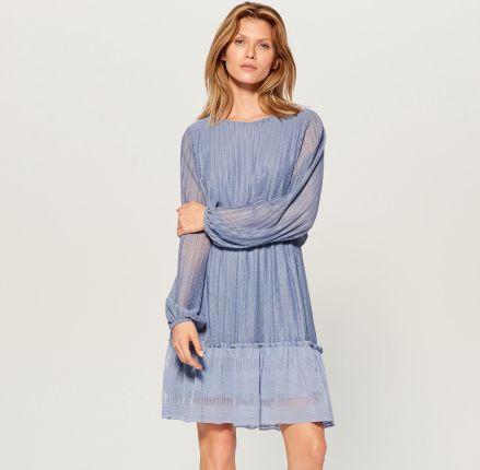 b409983a08 Mohito - Rozkloszowana sukienka z dekoltem halter - Czarny - Ceny i ...