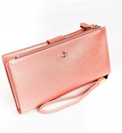 3261df06f6d8c Portfel damski Forever Young pudrowy róż - różowy - Ceny i opinie ...