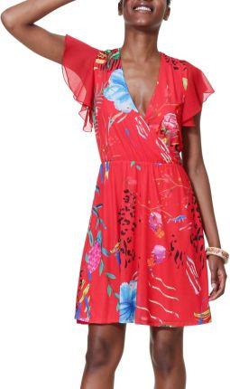 2b5dd292aa Desigual czerwone sukienka Vest Miranda - XXL