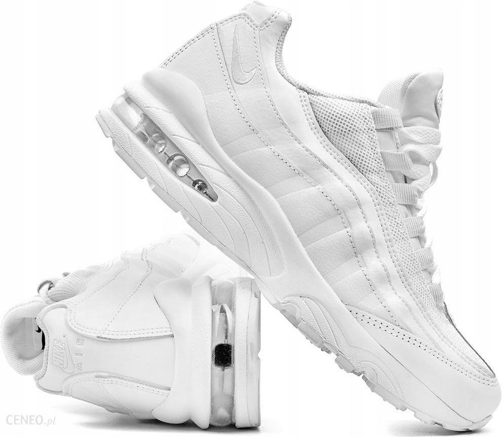 niskie ceny fabrycznie autentyczne znana marka Buty damskie Nike Air Max 95 AQ3147 100 białe 36,5