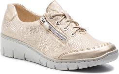 cf03afe57d990 Sneakersy HELIOS - 334 Złoty eobuwie