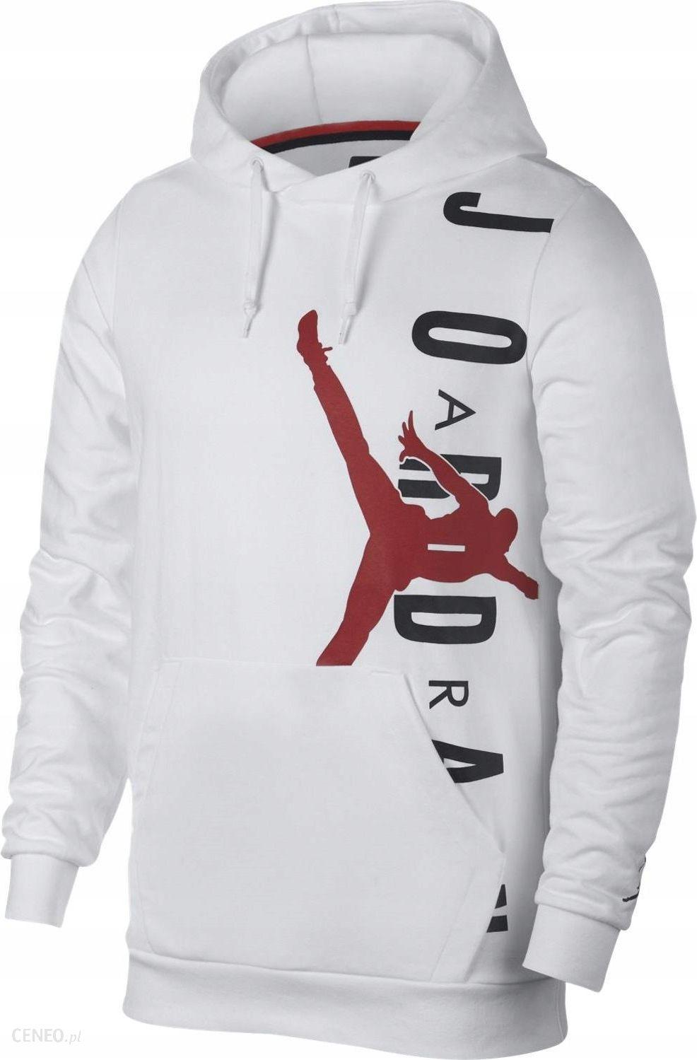 L Bluza Nike Jordan Jumpman AO0446 100 Biała Ceny i opinie