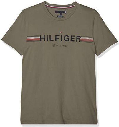25659c2b9 T-shirt w paski Regular zielony 64/66 (3XL) 928886 - Ceny i opinie ...