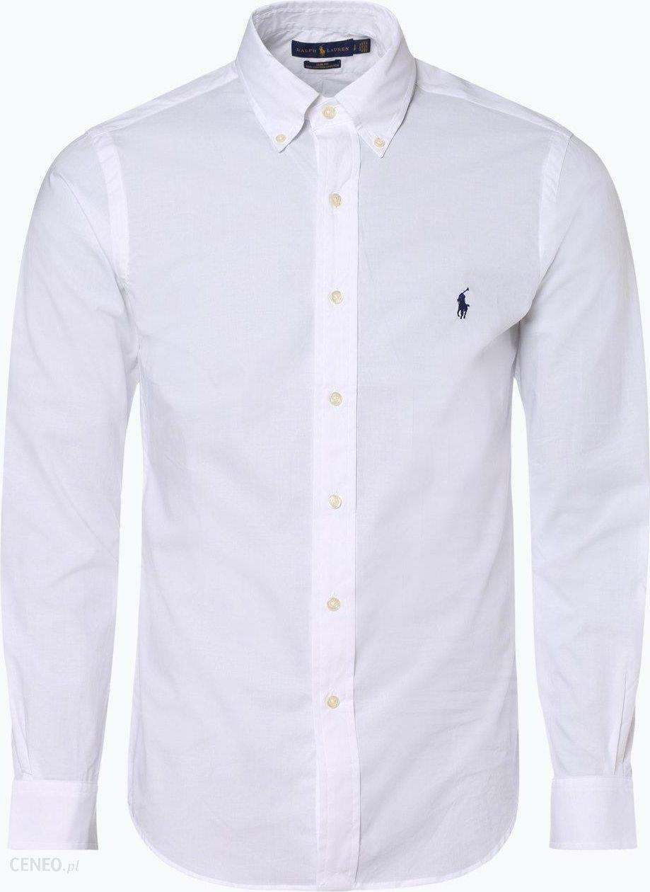 RALPH LAUREN POLO koszula męska biała SLIM FIT XXL