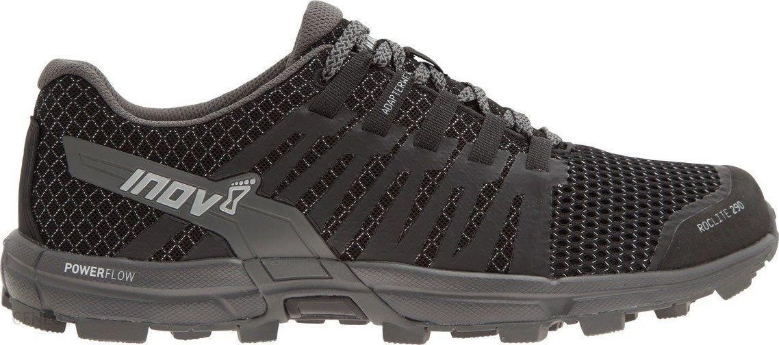 Inov 8 Roclite 290 męskie buty do biegania w terenie (czerwono czarny)