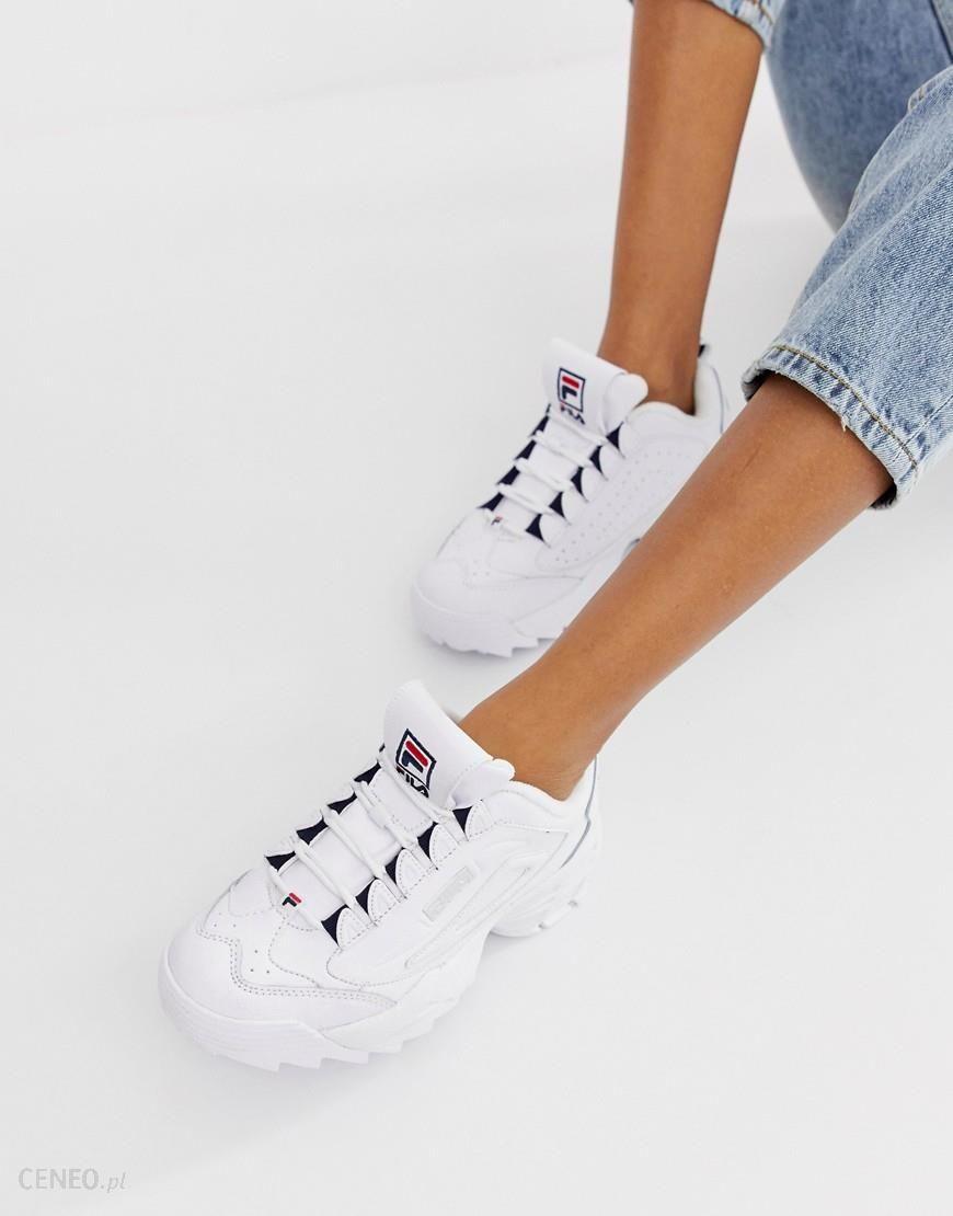 Fila Disruptor 3 White Trainers White