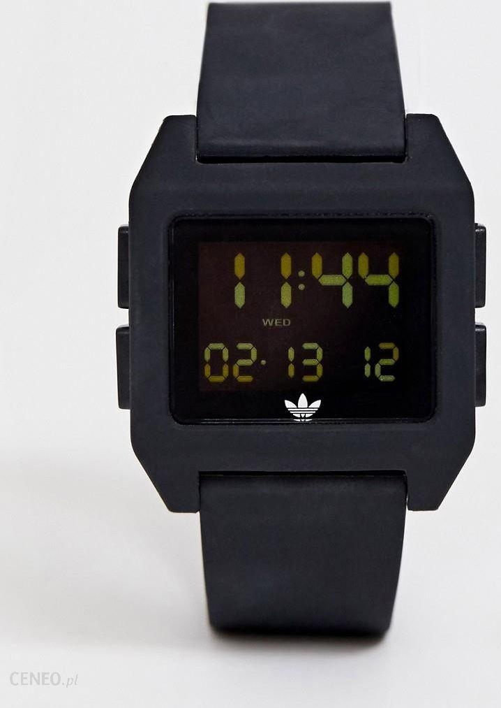 Adidas SP1 Archive digital silicone watch in black Black Ceneo.pl