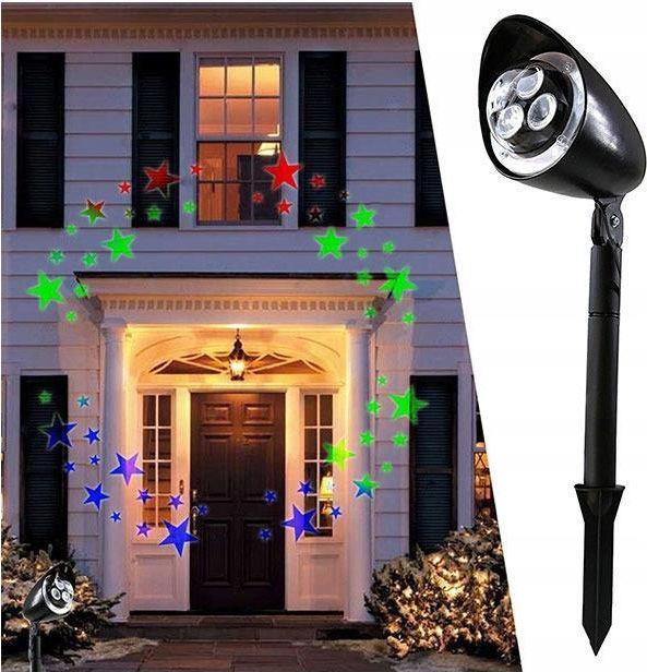 Projektor Led Laserowy Wodoodporny Rzutnik Ruchomy Opinie I Atrakcyjne Ceny Na Ceneo Pl