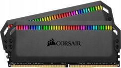 Corsair Dominator Platinum 32Gb Ddr4, 3200Mhz, 2X16Gb Dimm, Unbuffered, 1.35V (Cmt32Gx4M2C3200C16)