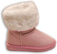 e25bcfb5f5432 Minoti Kozaki dla dziewczynki-różowe 51015kids.eu. Buty zimowe ...