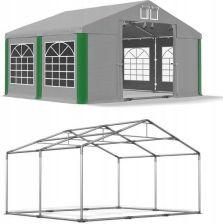 Namiot Ogrodowy Zmiana Długości 4X4m Biały Ceny i opinie