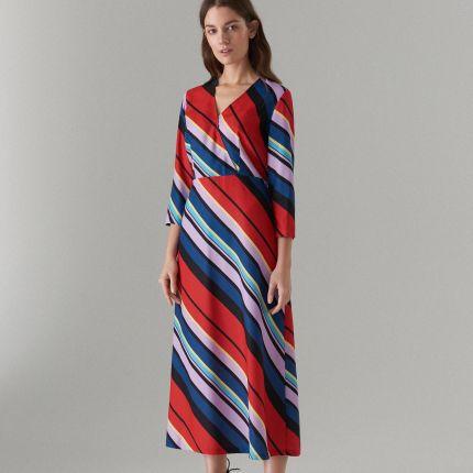 8946fc58cb Czerwona sukienka maxi Sukienki wiosna 2019 - Ceneo.pl