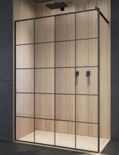 Radaway Modo New Black Ii Factory 155 Walk-In 389155-54-55