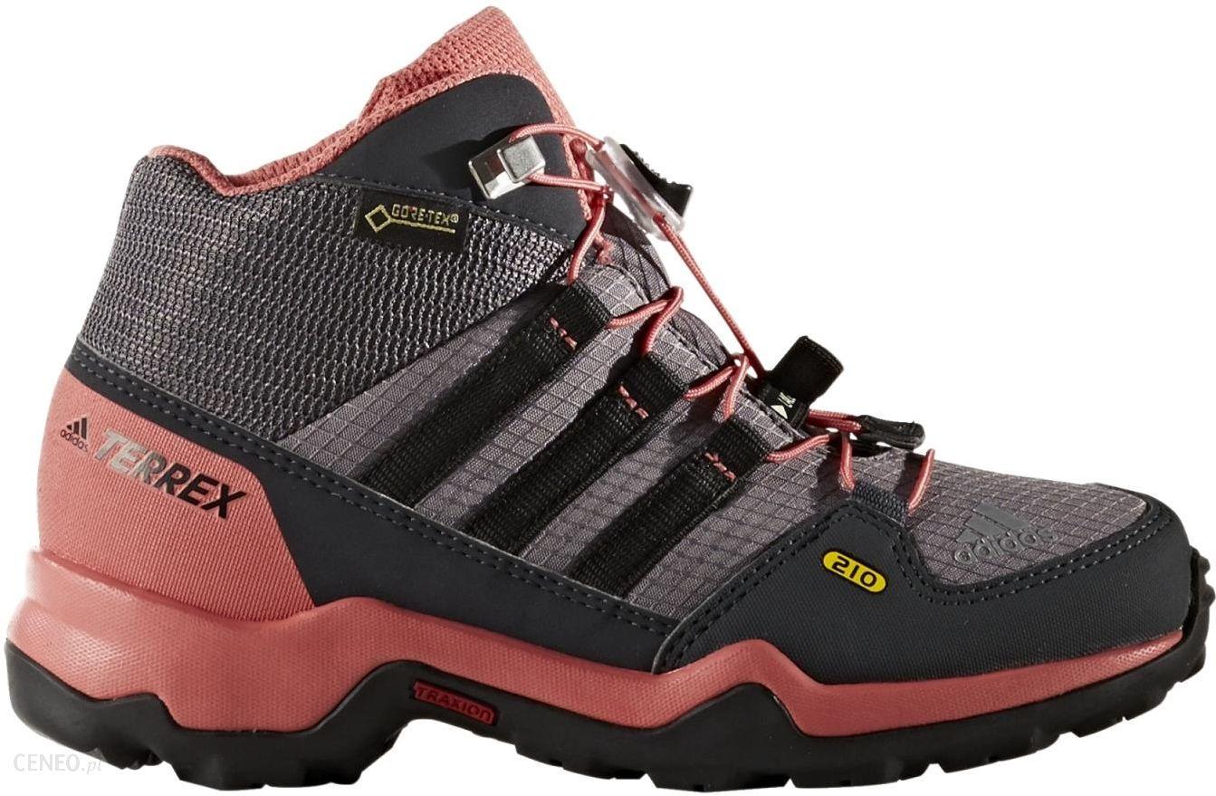 Buty trekkingowe Adidas Terrex Mid Gtx K Trace Greycore Blackt Szary Ceny i opinie Ceneo.pl