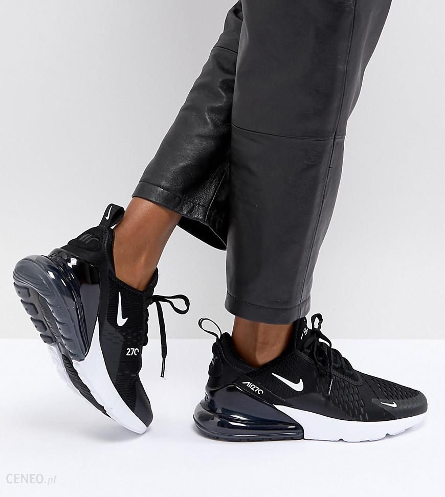 Nike Air Max 270 Trainers In Black Black Ceneo.pl