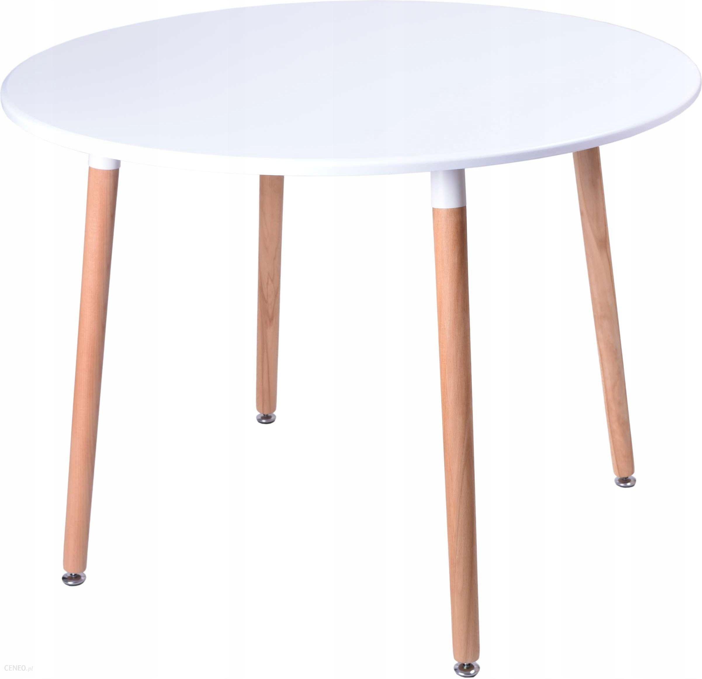 Stół Okrągły Do Salonu Nowoczesny Stolik Dsw 100cm Opinie I Atrakcyjne Ceny Na Ceneopl