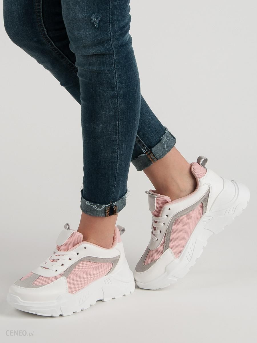 Buty damskie ADIDAS CONEO (DB0132) | Biały, odcienie różu