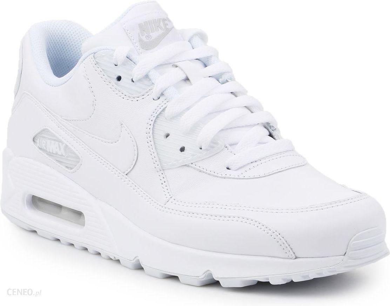 Buty Nike Air Max 90 Leather 302519 113 białe Ceny i opinie Ceneo.pl