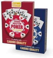 Trefl Karty Texas Hold'Em Poker Casino Quality