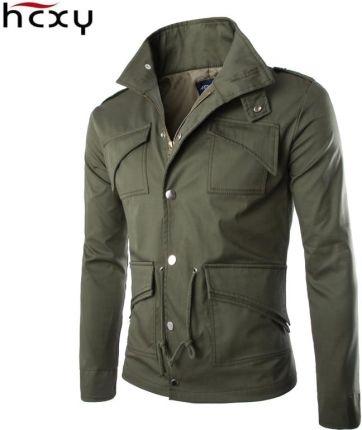 6e1a6674e783c AliExpress 2016 wysokiej jakości bawełny kurtka wojskowa Brytyjski handel  temperament Slim duży rozmiar stylowe męskie kurtki