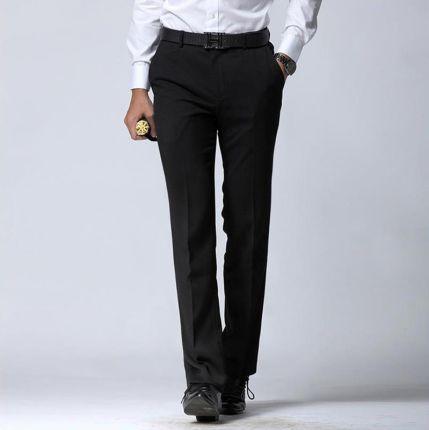 77f342c06897d AliExpress Manoble Męskie Spodnie Sukienka 2016 Brand New Korean Style  Mężczyzn Garnitur spodnie Czarne Firm Mężczyźni
