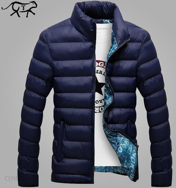 kurtka męska zimowa slim fit