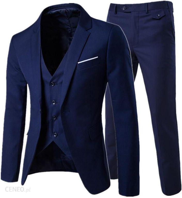 AliExpress 2019moda męska Slim garnitury męskie biznes odzież codzienna groomsman trzyczęściowy garnitur Blazers kurtka spodnie spodnie kamizelka zes